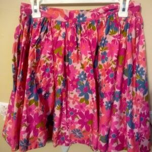 Barbie Pink Floral Skirt Tracy Feith